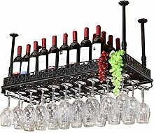 JYXJJKK Weinregal American Retro Weinglashalter