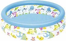 JYYEG Aufblasbarer Pool Für Familien, Einfach
