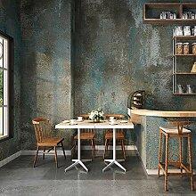 JZ·HOME 3304 Beton-Tapete in Blau/Grau, rustikale