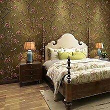 JZ·HOME 90105 Vintage Floral Tapete,