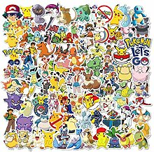 JZLMF 100 Pokemon Computer Telefon Notebook