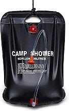 JZLPY Solardusche Campingdusche,20l Camping Dusche