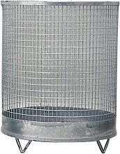 K.a. - Abfallkorb H600xD500mm 118l Drahtgitter