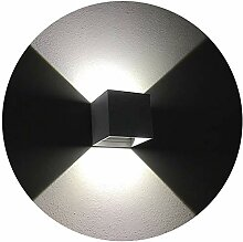 K-Bright 12W LED Außenwandlampen, Auf und ab