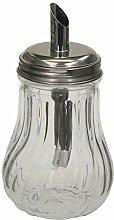 K&G GP2800 2er Set Zuckerdosierer Glas | Edelstahl