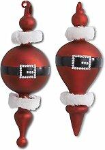 K&K Interiors 54138B Weihnachtsmanngürtel aus