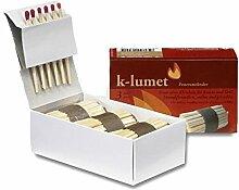 K-lumet Feueranzünder 3er Geschenkbox Klein Für