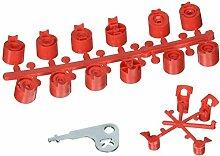 K Regen 6 513991 Count zahnradbetriebener Standard-Sprinkler D-senpake