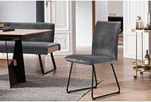 K+W Komfort & Wohnen Kufenstuhl Deseo II Stuhl mit