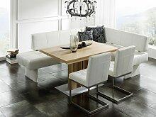 K+W Silaxx 7924 Eckbank Spider KW Möbel hochwertige Eckbank in Leder Longlife oder Kunstleder