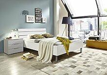 K25-290+K33-845 Easy Beds weiss matt Bett