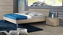 K27-290+K35-845 Easy Beds Eiche Sägerau Nb. Bett Kinderbett Jugendbett Gästebett Futonbett ca. 120 x 200 cm