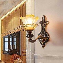 KAAK Französisch Kupfer Wandlampe Schlafzimmer