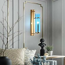 KAAK Postmodern Glaswandlampe