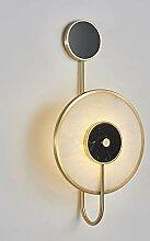 KAAK Postmodern Marmor Luxuxwohnzimmer Wandlampe
