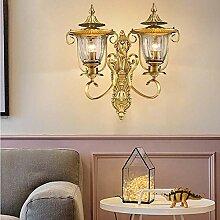 KAAK Wand Kupfer Wandlampe Warme Schlafzimmer