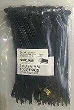 Kab24® Industrie Kabelbinder 100er Pack Polyamid