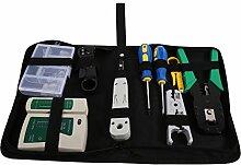 Kabel Werkzeuge, 9 teilig Netzwerk Werkzeug Set