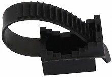 Kabelbinder/Halter UP22 UV Schwarz 100szt 12.11 0400