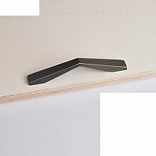 Kabinett Griffe/moderne minimalistische Garderobe Griff/Türgriff-Sets/Vintage Messing Türen des Mittelmeers/Knauf-Q