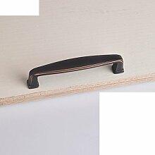 Kabinett Griffe/moderne minimalistische Garderobe Griff/Türgriff-Sets/Vintage Messing Türen des Mittelmeers/Knauf-C