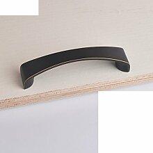Kabinett Griffe/moderne minimalistische Garderobe Griff/Türgriff-Sets/Vintage Messing Türen des Mittelmeers/Knauf-I