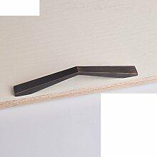 Kabinett Griffe/moderne minimalistische Garderobe Griff/Türgriff-Sets/Vintage Messing Türen des Mittelmeers/Knauf-O