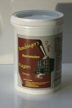 Kachelofen Fugenmasse 0,5kg 940 Brombeer hell (Rosa hell)