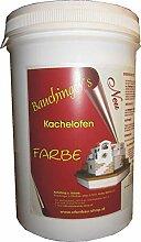Kachelofen Putzfarbe 250 Schiefergrau 0,5kg