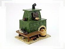 Kachelofen-sehr dekorativ- für Räucherkerzen aus