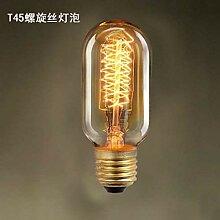 KAD Deckenleuchte Edison Bulb Silk Silk Carbon