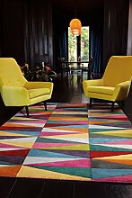 KADIMA DESIGN Moderner Designer Teppich GLOMA