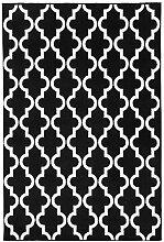 KADIMA DESIGN Moderner Designer Teppich My Black &