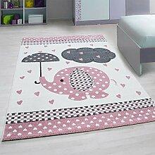 KADIMA DESIGN Moderner Kurzflor Teppich für