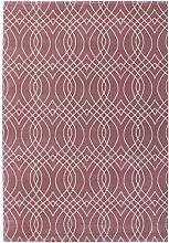 Kadimadesign Pierre Cardin-Markenteppich Bellevie Exclusive 110 Rosa 80cm x 150cm