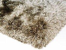 Kadimadesign Shaggy Teppich Bright beige 200x300 cm