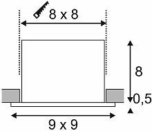 KADUX LED Single DL Set, mattweiss, 38°, 3000K,