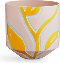 Kähler Design - Fiora Übertopf H 25 cm, pink