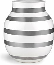 Kähler Design - Omaggio Vase H 200, silber