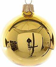 Kaemingk 4-er Set Weihnachtskugel aus Glas in