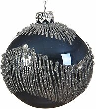 Kaemingk Christbaumkugel aus Glas, mundgeblasen, 8