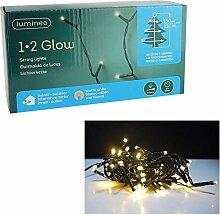 Kaemingk LED Lichterkette 1-2 Glow Girlande