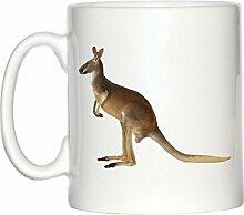 Känguru Bild Design Becher