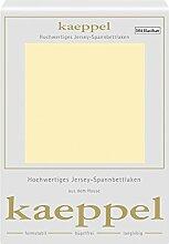 Kaeppel Elasthan Jersey Spannbetttuch , Größe:90x200-100x200 cm;Farbe:306 Vanille
