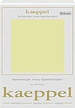 Kaeppel Elasthan Jersey Spannbetttuch , Größe:90x200-100x200 cm;Farbe:330 Pistazie