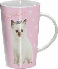 Kätzchen - Princess Kitty - Mug - Becher - Latte