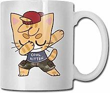 Kätzchen schöne Mode Kaffeetasse Porzellan Tassen