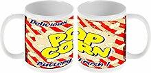 Kaffe Tasse Essen Restaurant Popcorn frisch