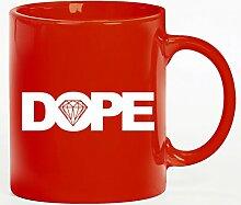 Kaffee Becher bedruckte Tasse der Marke