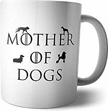 Kaffee-Becher - Tasse Mother of Cats Dogs   Mutter